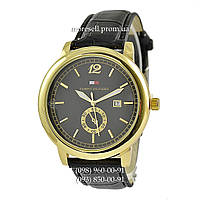 Часы Tommy Hilfiger B105 Black-Gold-Black