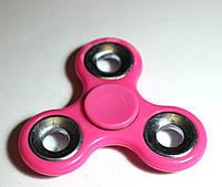 Спиннер - с металлическим подшипником розовый, фото 1