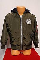 Куртка-Бомбер для мальчиков от 1 до 5 лет на весну. Фирма-S&D. Венгрия