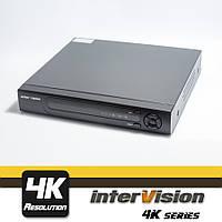 UDR-4K-44  видеорегистратор 4-х канальный, пентатрибридный Ultra HD видеонаблюдение.