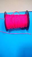 """Верёвка """"Крокус"""" диаметром 2мм (линь) оранжевая"""