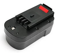 Аккумулятор PowerPlant для шуруповертов и электроинструментов BLACK&DECKER GD-BD-18(B) 18V 2Ah NICD