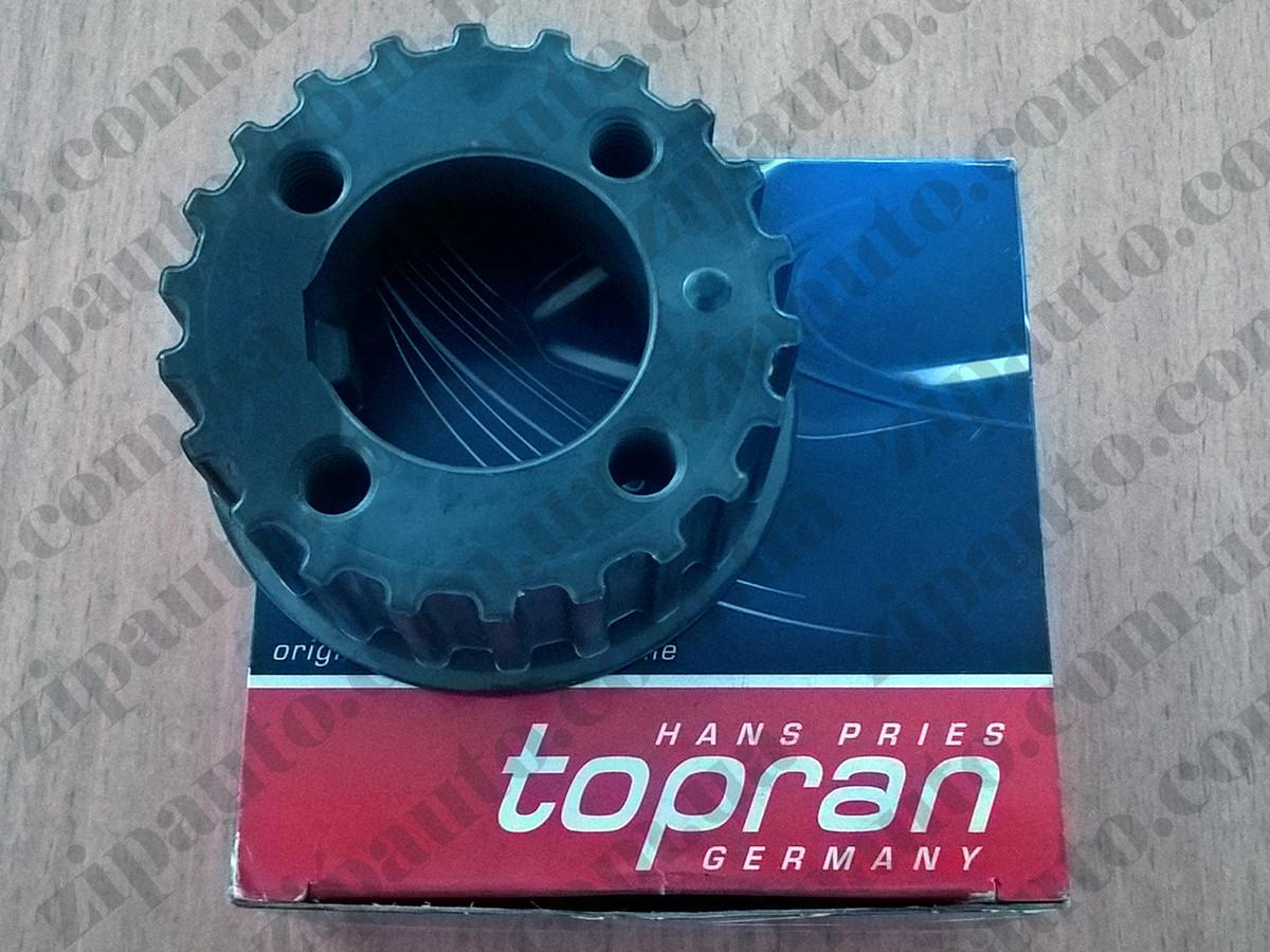 Шестерня коленвала Volkswagen T4 2.4D | 2.5TDI | шпонка | TOPRAN