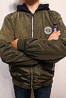 Куртка-Бомбер для мальчиков от 4 до 12 лет (116-146см.) на осень. Фирма-S&D. Венгрия