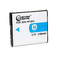 Аккумулятор Sony NP-BN1, Li-ion, 1100 mAh (BDS2647)