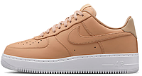 Мужские кроссовки Nike Air Force 1 Low бежевые 37