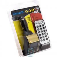 Bluetooth FM-модулятор 505 Micro SD, USB Золотистый