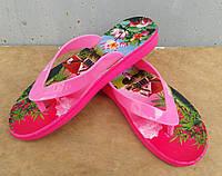 Шлепанцы женские вьетнамки оптом Payas розовые