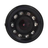 Автомобильная камера заднего вида 728T с улучшенным обзором, большой линзой, ночной съёмкой, В наличии