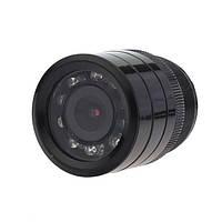 Автомобильная камера заднего вида 728T с улучшенным обзором, большой линзой, ночной съёмкой