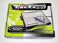 Отличный 4-х канальный усилитель Cougar 600.4 2000Вт. Практичный дизайн. Хорошее качество. Код: КДН1950