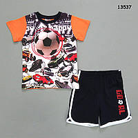 Летний костюм для мальчика. 2-3;  3-4;  4-5;  5-6 лет, фото 1