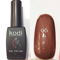 Гель лак № 096 Kodi Professional(темно-кофейный) 8 мл
