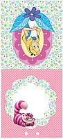 Алиса в стране чудес 2 вафельная картинка