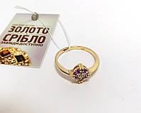 Кольцо золотое женское, 585 проба. Вес 1,95 грамм