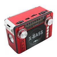 Радиоприемник колонка MP3 USB HS-1062URT Red