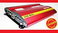 Автомобильный усилитель звука VX12 MRV-F905 + USB 4200Вт 4х канальный. Качественный усилитель. Код: КДН1956