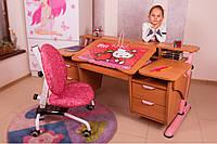 Детский стол Эргономик с двумя тумбами из ДСП, фото 1