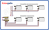 Icma 2-х кутовий вентиль, з можливість установки датчика., фото 2