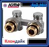 Icma Двотрубний вентиль для панельного радіатора кутовий, фото 7