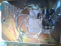 Диск тормозной 160мм + суппорт, к-кт ARTEK ADC-04 для велосипеда