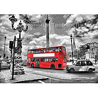 Картина по номерам Лондон. На площади Пикадилли, 40х50см. (КНО2146)