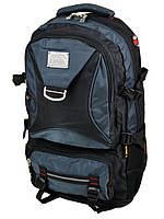 Рюкзак Туристический нейлон Royal Mountain 7916 black-blue
