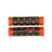 Ручки велосипедные черно-красные (комплект ручек)