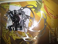 Дисковый тормоз  для велосипеда ARTEK ADC-02(04) ротор-160мм и адаптер