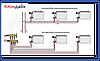 Icma 2-х кутова термостатичний вентиль з вбудованим відводом повітря., фото 2