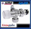 Icma 2-х кутова термостатичний вентиль з вбудованим відводом повітря., фото 6