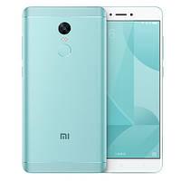 Смартфон ORIGINAL Xiaomi Redmi Note 4X Blue (10X2.3Ghz; 4GB/64GB; 4100 mAh)
