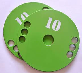Диск олимпийский металлический 10 кг, фото 2