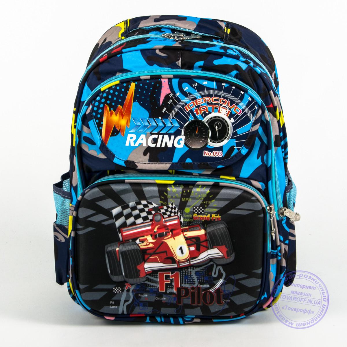 007c6bf36947 Школьный рюкзак для мальчика с жесткой спинкой и 3D рисунком - синий - 124,  ...