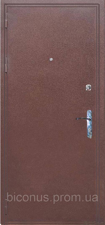 """Двери входные металлические """" СОВА """" серия ЛИДЕР Люкс (850 х 2040) левая"""