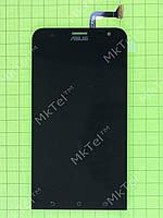 Дисплей Asus Zenfone 2 Laser ZE550KL с сенсором Оригинал элем. Черный