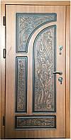 """Двери входные металлические """" СОВА """" серия """" Элит с патиной"""" (950 х 2040) правая, левая"""