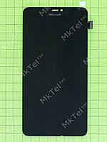 Дисплей Lumia 640 XL Dual SIM с сенсором Копия Черный