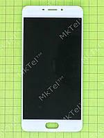 Дисплей Meizu M5 Note с сенсором Копия АА Белый