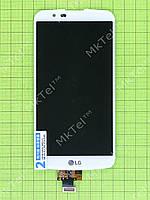 Дисплей LG K10 LTE K430 с сенсором Оригинал элем. Белый