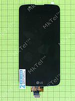 Дисплей LG K10 LTE K430 с сенсорным экраном Оригинал элем. Черный