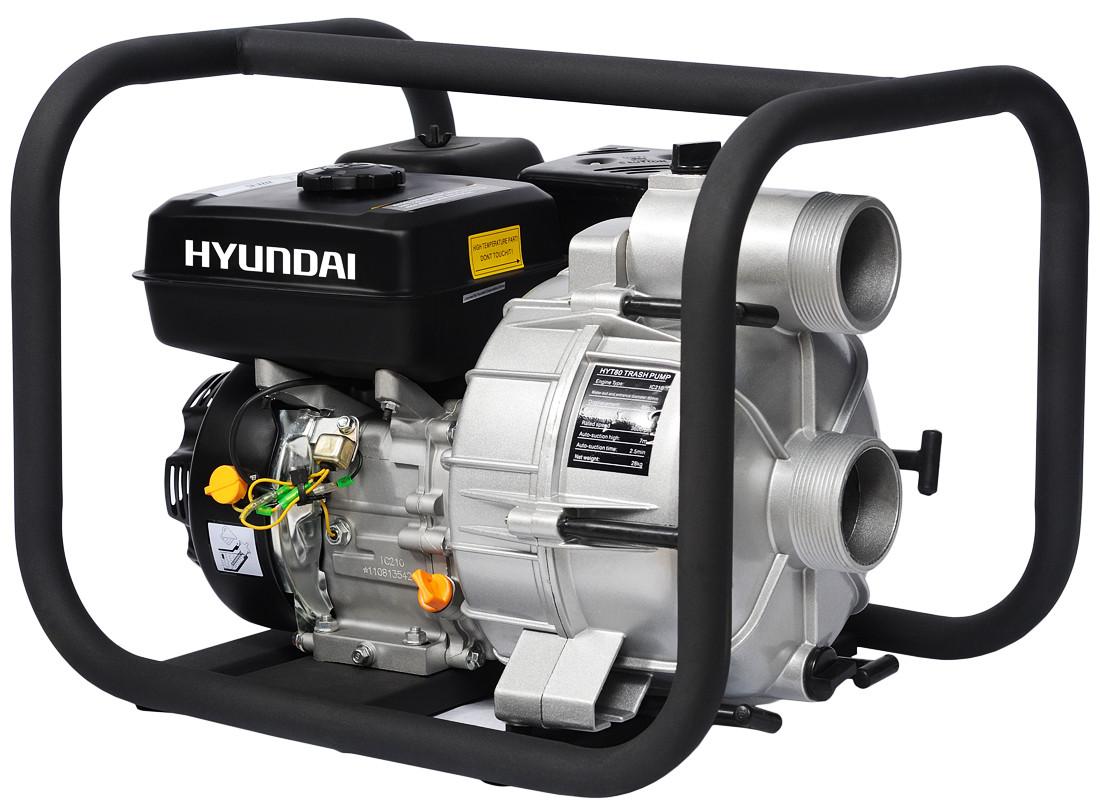 Мотопомпа для грязной воды Hyundai HYT 83