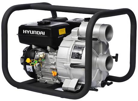 Мотопомпа для грязной воды Hyundai HYT 83, фото 2