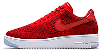 Мужские кроссовки Nike Air Force 1 Low Flyknit University Red 42
