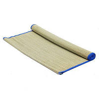 Пляжный коврик фольга с соломкой 150х165, коврик для пляжа
