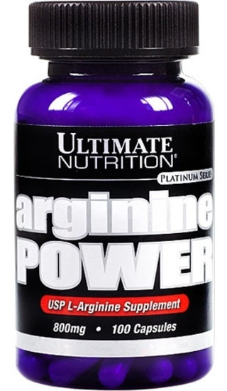 Аминокислота Arginine power Ultimate Nutrition 100 кап