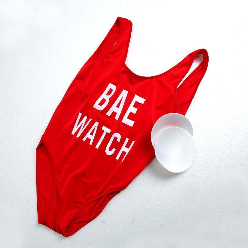 Купальник BAE WATCH красный d9954ec56f13c