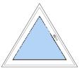 Треугольные металлопластиковые окна недорого