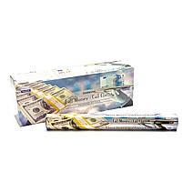 Благовония Call money-Call Client Darshan 20шт/уп. Аромапалочки Привлечение Денег и Клиентов (26556)