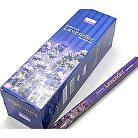 Благовония Lavender Darshan 8шт/уп. Аромапалочки Лаванда (21731)